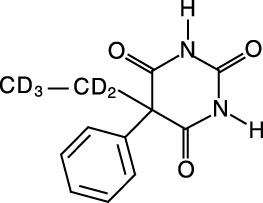 Phenobarbital-D5 (deuterium label on side chain